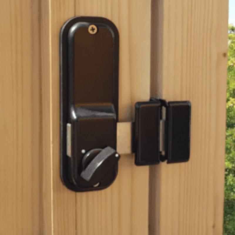 exterior coded lock